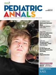 Pediatric Annals October 2014