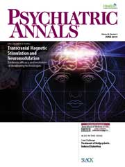 Psych Annals June 2014 cover
