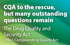 CQA to the rescue, but many outstanding questions remain