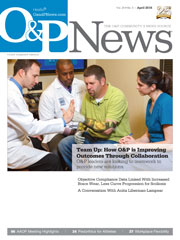 O&P News April 2016 issue