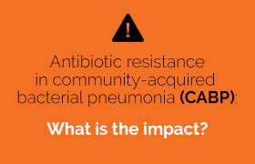 Antibiotic resistance in community-acquired bacterial pneumonia: what is the impact?