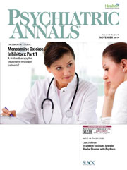 Psychiatric Annals November 2014