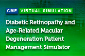 Diabetic Retinopathy and Age-Related Macular Degeneration Patient Management Simulator: Translating Optimal Treatment Strategies into Practice via a Virtual Clinical Training Environment