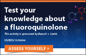 Test your knowledge about a fluoroquinolone